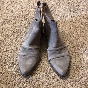 Nine West Vintage America suede short boots
